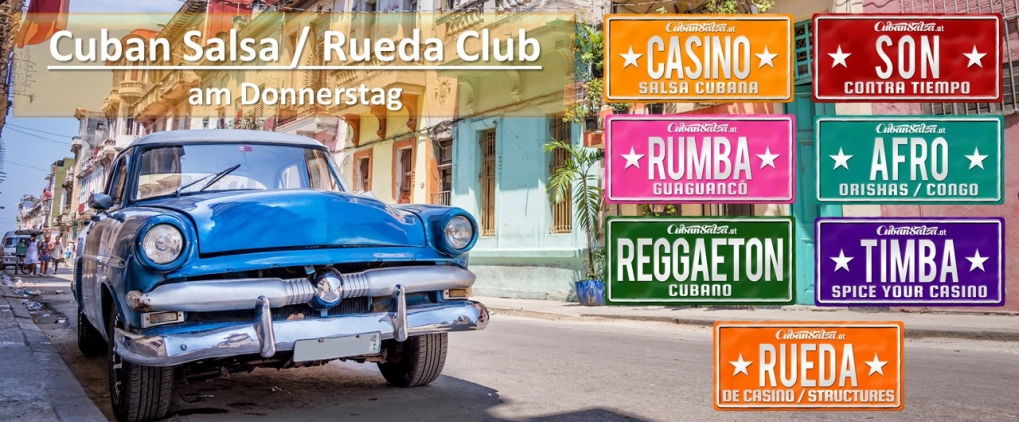Cuban Salsa & Afrocuban & Rueda (Club)